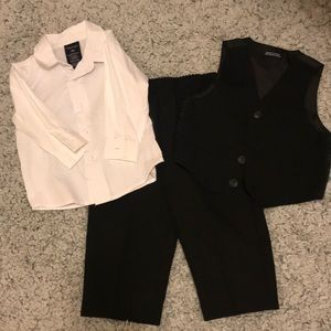 EUC Nautica Boys Formal Vest Set Size 18months